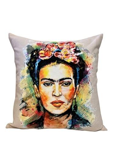Alla Turca Dekoratif Kırlent Kılıfı-Frıda Renkli